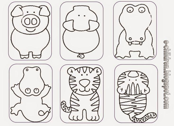 Los Niños: ΤΑΊΡΙΑΞΕ ΤΑ ΖΩΑ - παιχνίδι με καρτέλες