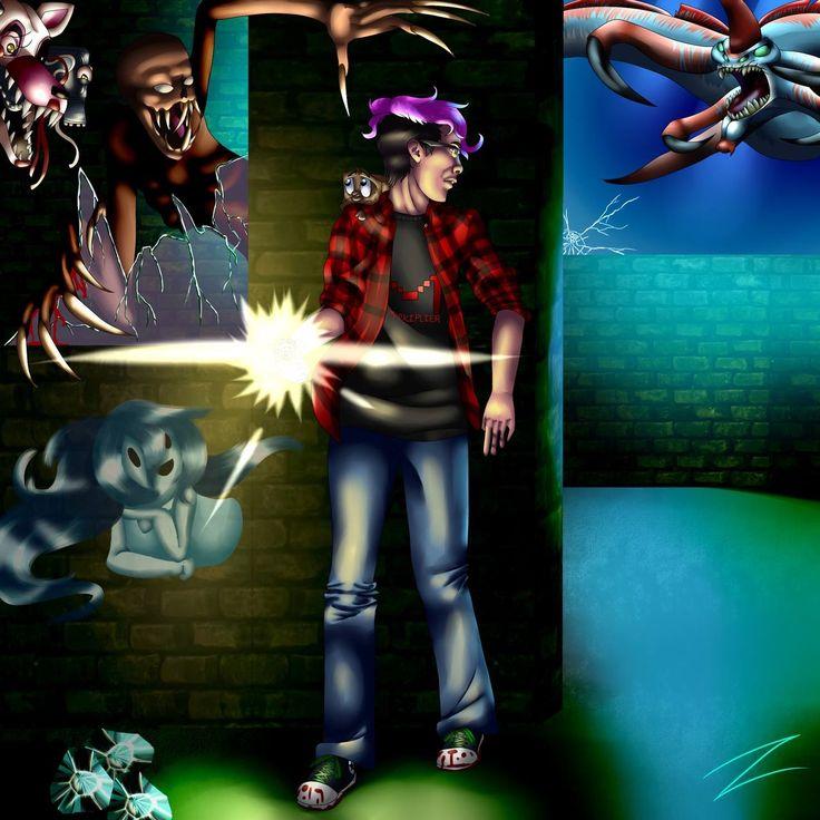 Markiplier game collage