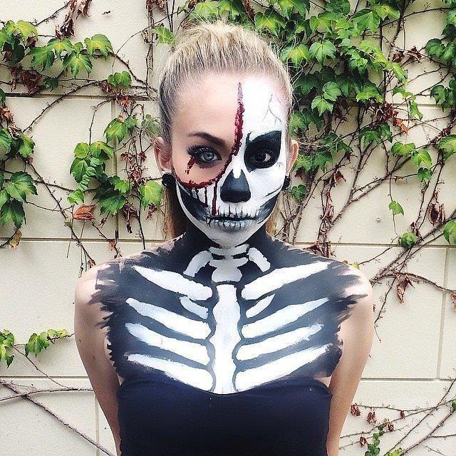 Мы собрали множество мастер-классов и видео для того, чтобы Ваш макияж на Хэллоуин был самым лучшим и сразил наповал даже зомби. Заходите к нам!