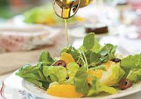 Cantinho Vegetariano: Salada de Alface com Agrião e Laranja (vegana)