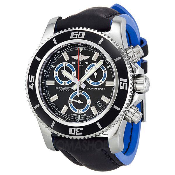 Breitling Superocean Chronograph M2000 Black Dial Mens Watch A73310A8-BB74BKLT $3,595.30