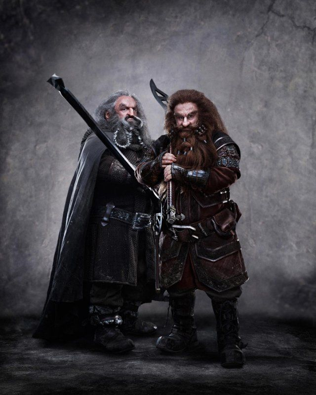 Dwarves from the upcoming Hobbit movie
