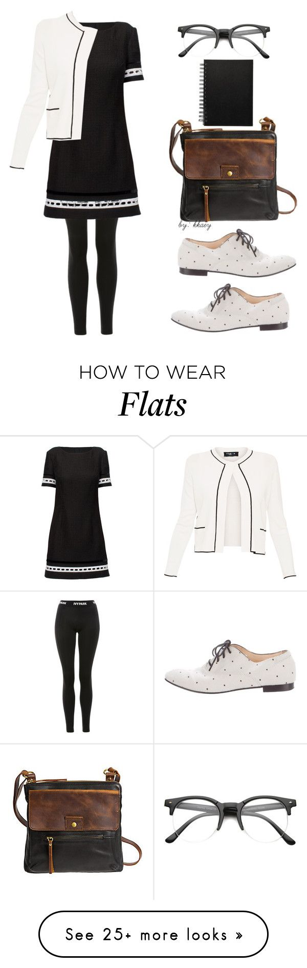 """LIBRARY CHIC #1"" by kkaey on Polyvore featuring Ivy Park, Lattori, Tod's, Overland Sheepskin Co., Paule Ka and ZeroUV"
