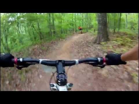 Blankets Creek XC mountain biking Race 2013 - YouTube