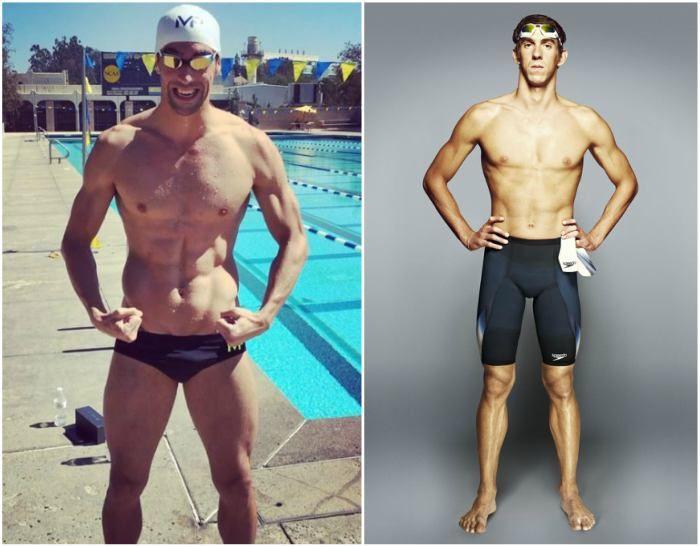Michael Phelps' body measurements