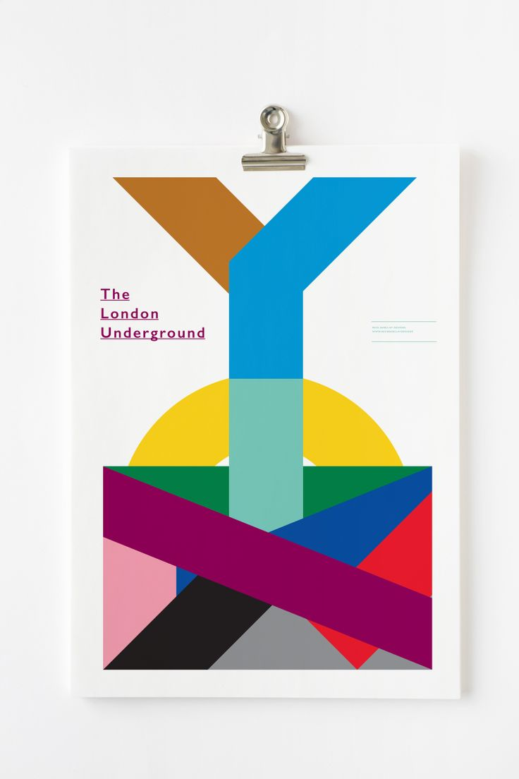 Poster design london - London Underground Poster By Nick Barclay Designs