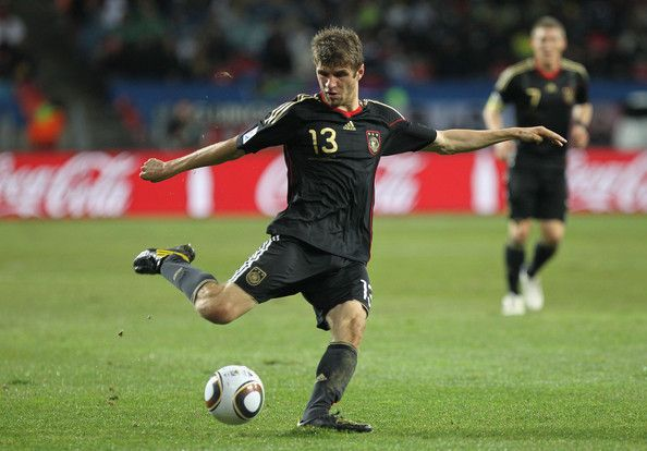 Thomas Mueller from Germany's national soccer team