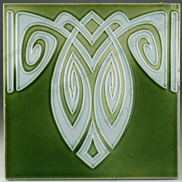 Art Nouveau & Art Deco Tiles. German, Bankel. This item is sold. To visit my web…