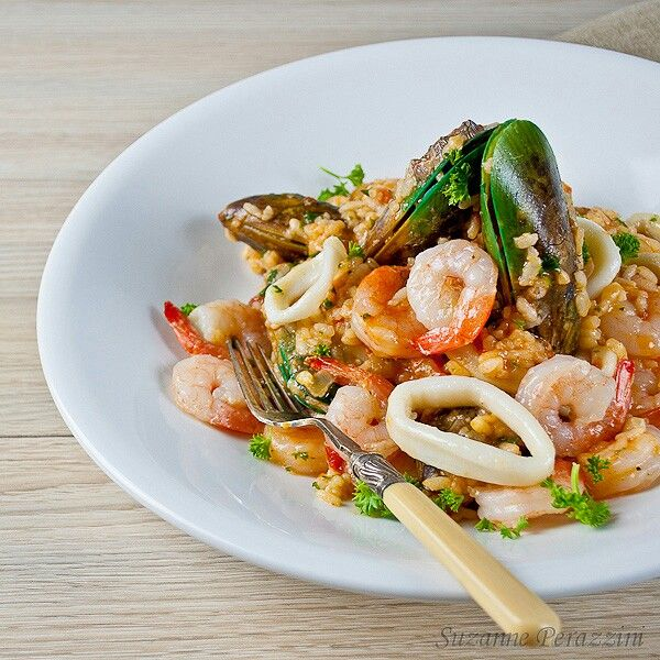 Rizoto seafood