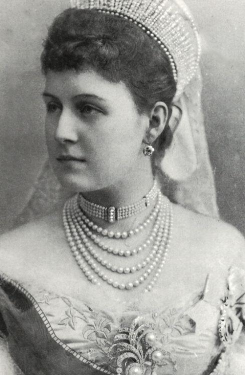 """romanovsonelastdance: """"Prinses Alexandra van Griekenland en Denemarken, Groothertogin van Rusland.  """""""