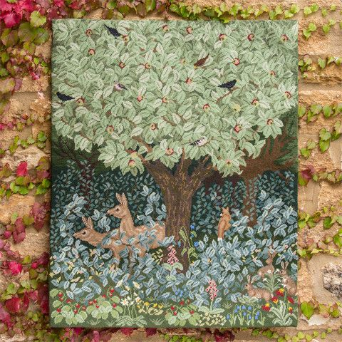 Beth Russell's new Woodland design. Beautiful!