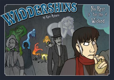 Widdershins Vol. 2 - No Rest for the Wicked  - fun tale of restless spirits, evil plots and friendship.