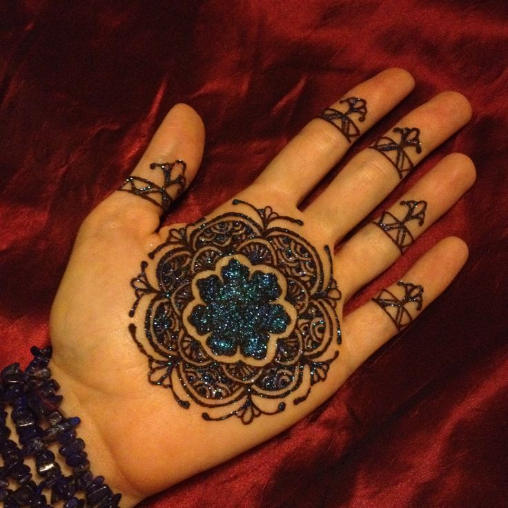 Inspired by Yuan Dynasty fine china~ Chinese patterned mandala with a 7 petaled flower for Our Lady of the Seven Sevens. The chalice blooms at the heart of my hand, to give and receive. Please like & pin to vote for me. <3 Scarlet Bee Henna by Nicole DiMucci Potts