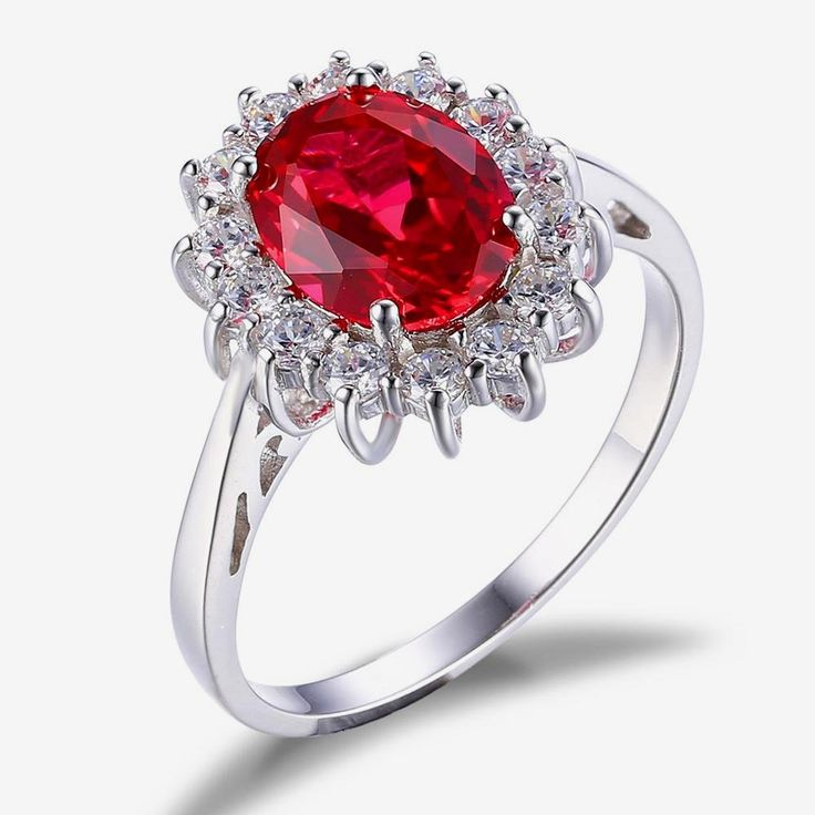 Top Quality Delicate Pigeon Blood Red Ruby Princess Style Ring Only $29.99 => Save up to 60% and Free Shipping => Order Now! #Bracelets #Mystic Topaz #Earrings #Clip Earrings #Emerald #Necklaces #Rings #Stud Earrings