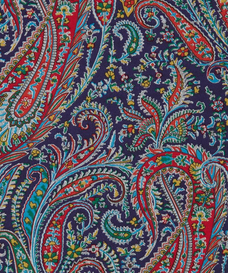 Liberty Art Fabrics Felix and Isabella J Tana Lawn Cotton | Fabric | Liberty.co.uk - these colors would also work for a living room, a little somber, but very rich and warm.