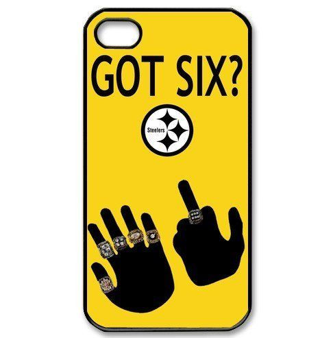 NFL Pittsburgh Steelers GOT SIX WE DO iPhone 4/4s Cases Steelers logo by Hiphonecases, http://www.amazon.com/dp/B00BUFLJIQ/ref=cm_sw_r_pi_dp_.fQmsb1B81VCS