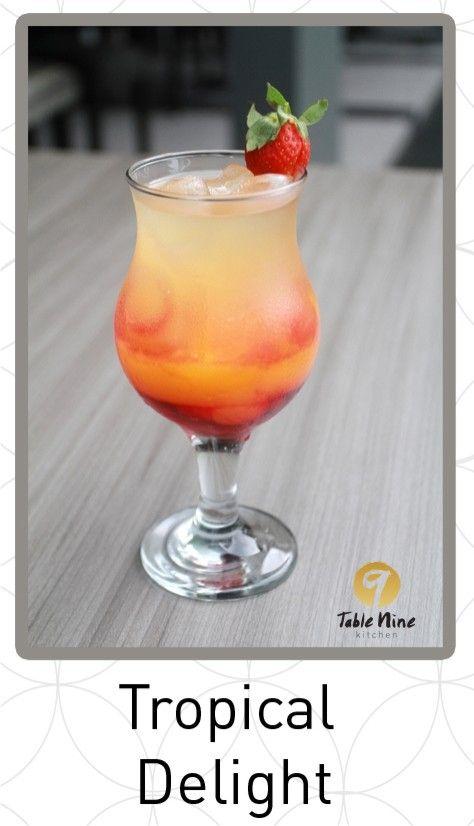 Tropical Delight Table Nine Kitchen Resto Jl.HR.Bunyamin,Pabuaran,Purwokerto. Telp.0281-627799
