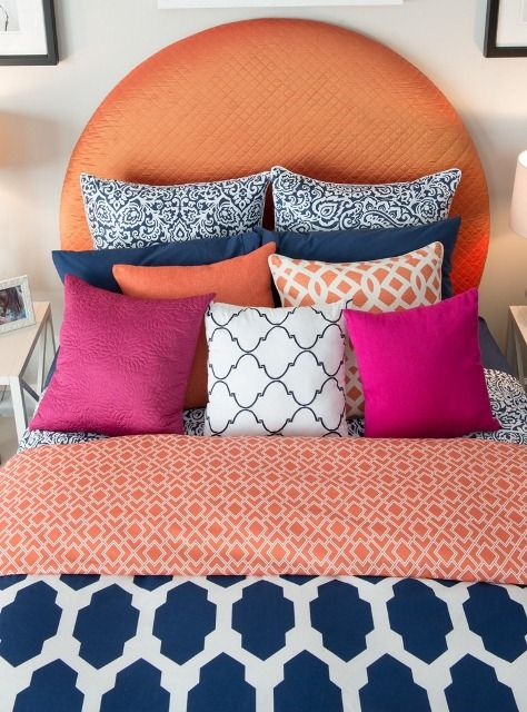 We believe in the more pillows, the sweeter the dreams! #HomeGoodsHappy
