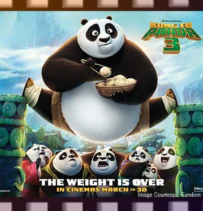 Kung Fu Panda 3 (January 2016)  Everyone's favorite panda is back and he is now fiercer than ever. In the 3rd installment, Po finally reunited with his father and worked with him to train a group of fun-loving yet clumsy aspiring martial arts fighters. They will all be fighting against the evil Kai who gets stronger after each battle.
