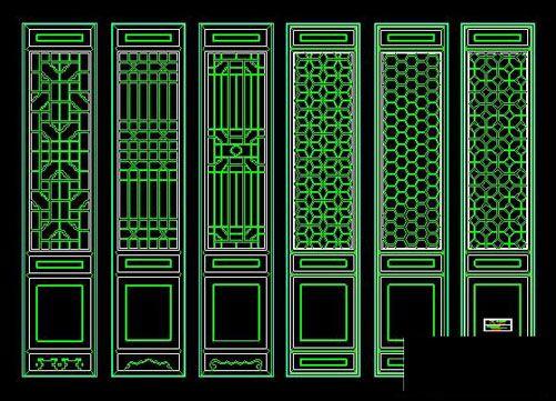 Classical door cad block 2,Free Autocad Drawing, Cad