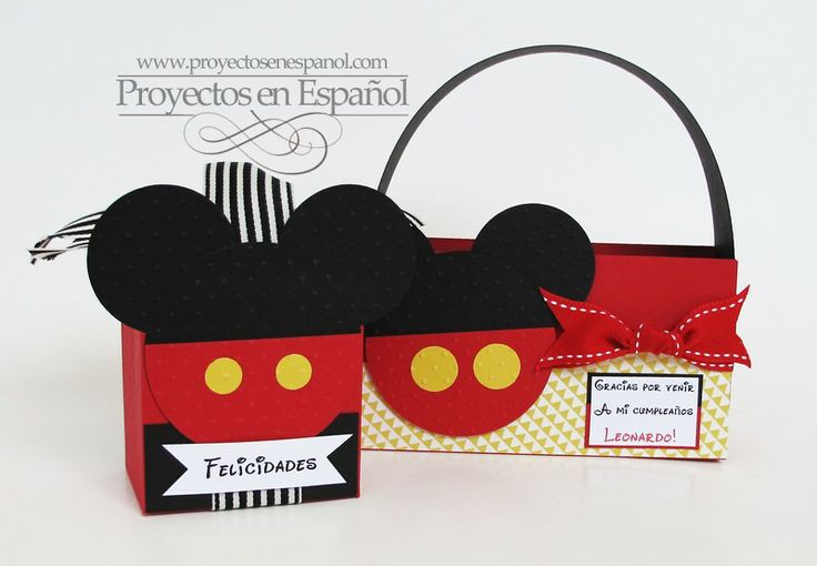 Mafer's Creations: MICKEY MOUSE BOXES - CAJAS SORPRESAS DE MICKEY ...