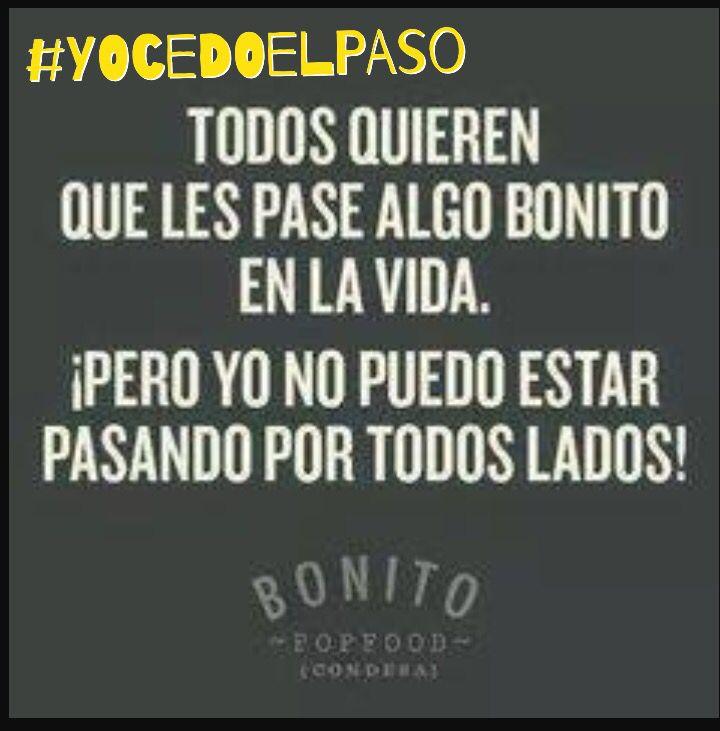 """Hagamos que a más personas les pase """"algo bonito"""" al momento de cruzar por la Cebra! Brindemos respeto al conducir #YOCEDOELPASO www.facebook.com/CampanaYoCedoElPaso"""