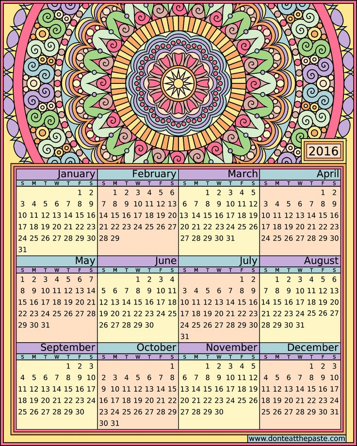 414 best Calendars images on Pinterest Free printable Calendar