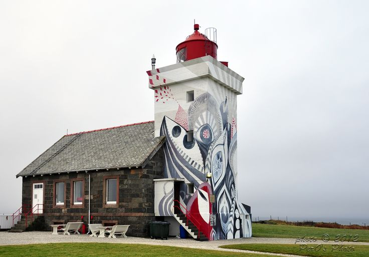 Obrestad Lighthouse, Norway