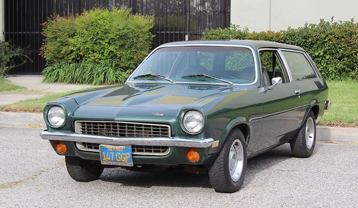 1972 Chevrolet Vega Kammback Wagon 4 Spd, Rust Free California Car