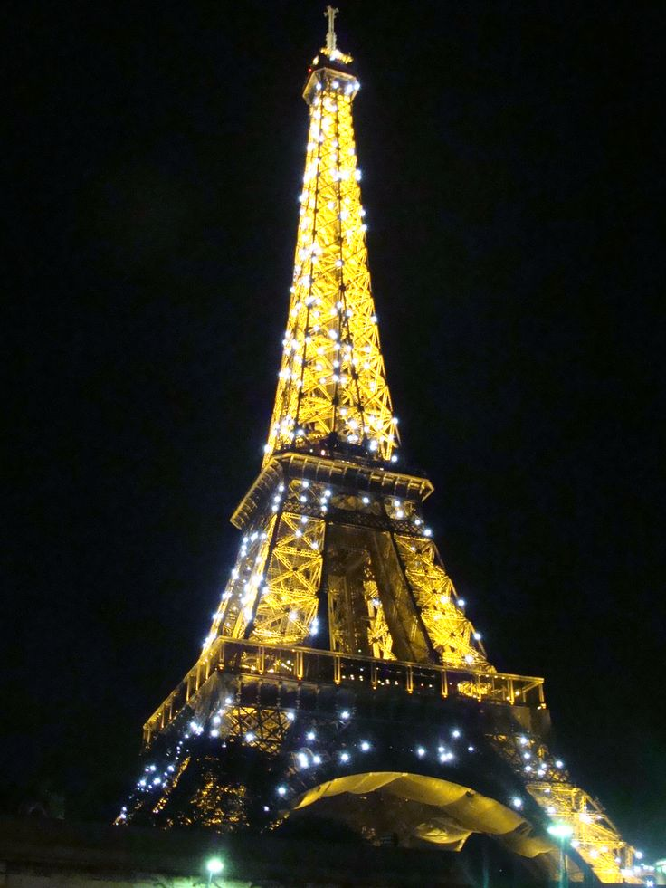 Our last night in Paris and what a Fabulous display of dancing lights. I dream of returning there to paint! I just love this place. :)