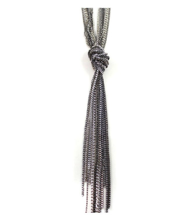 Tassel Design Chain Necklace