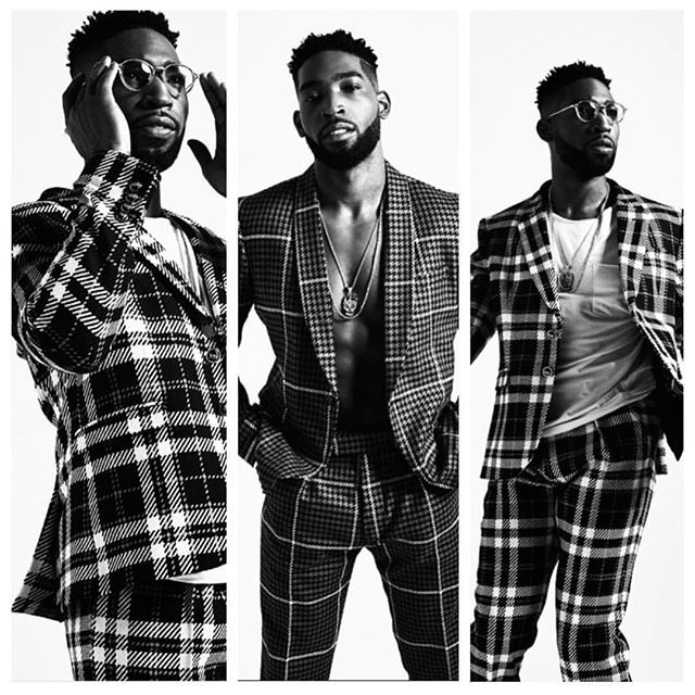 Tinie Tempah just looks amazing in this photo shoot#tinietempah @tiniegram