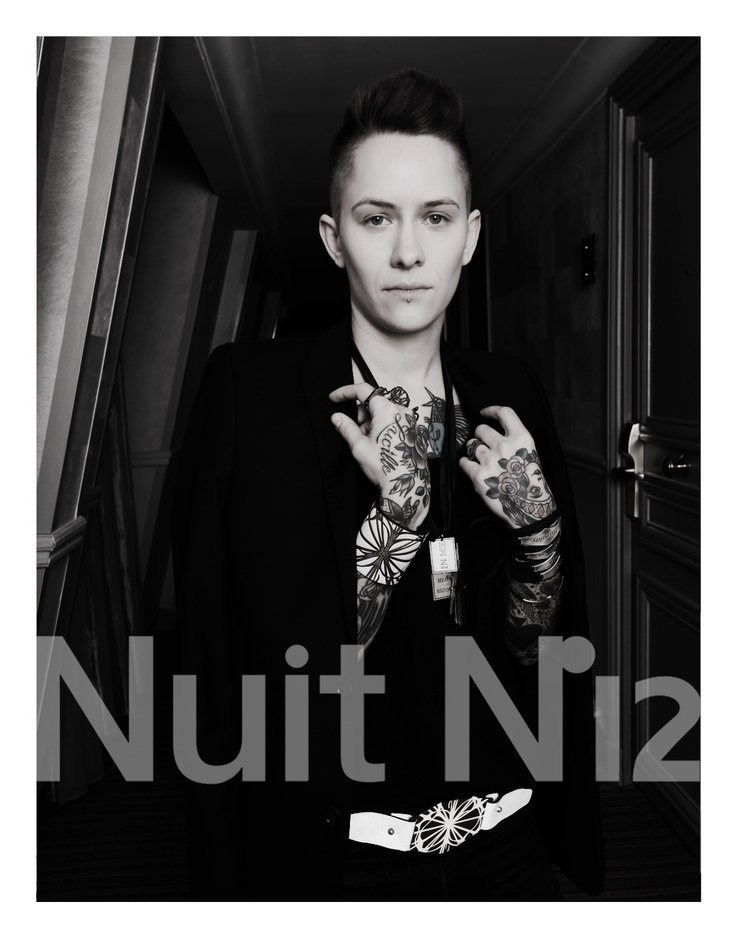 + Nuit N°12 - SS13 Campaign featuring Hannah Blilie +