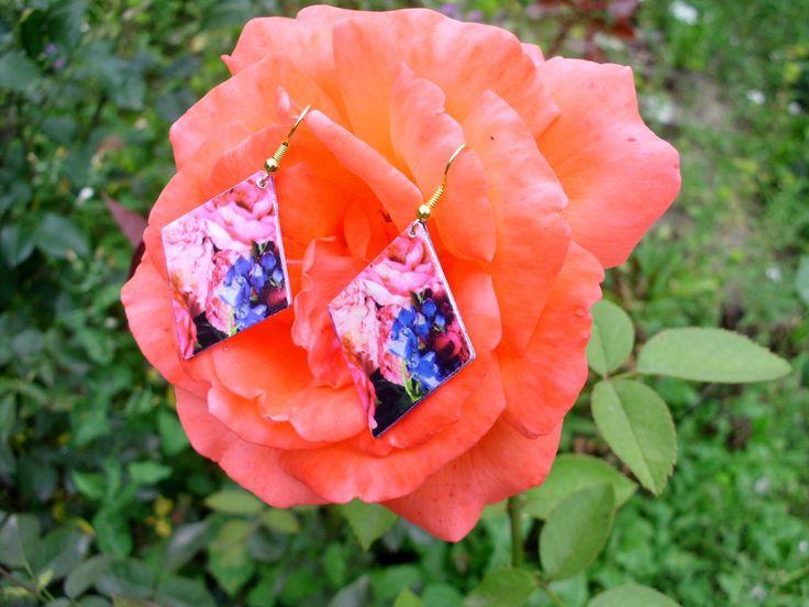 Paper earrings <3