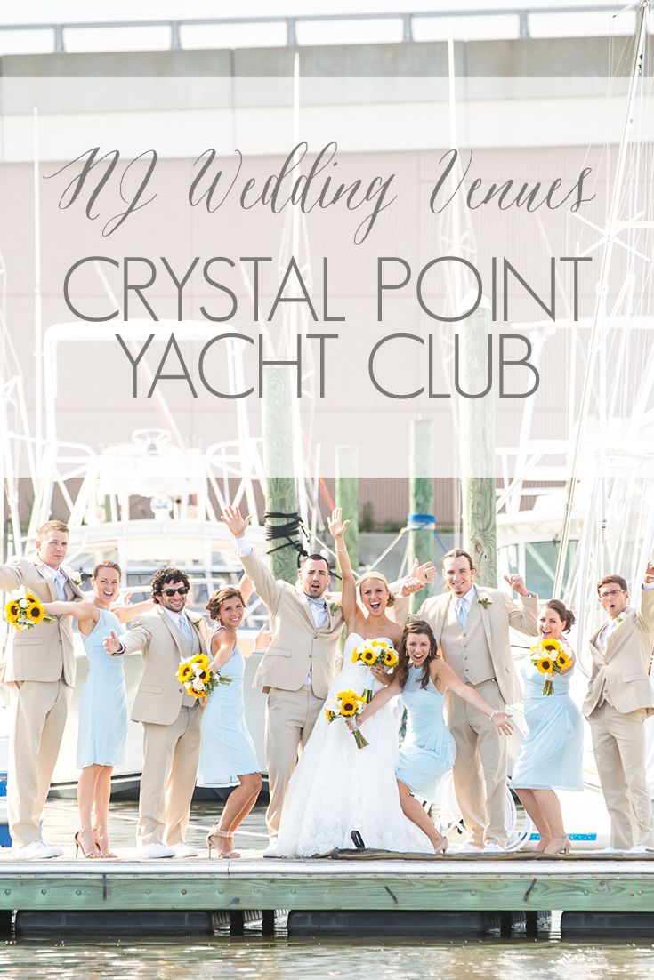 Crystal Point Yacht Club Is A Nj Wedding Venue Located In Ocean County The Town Of Pleasant