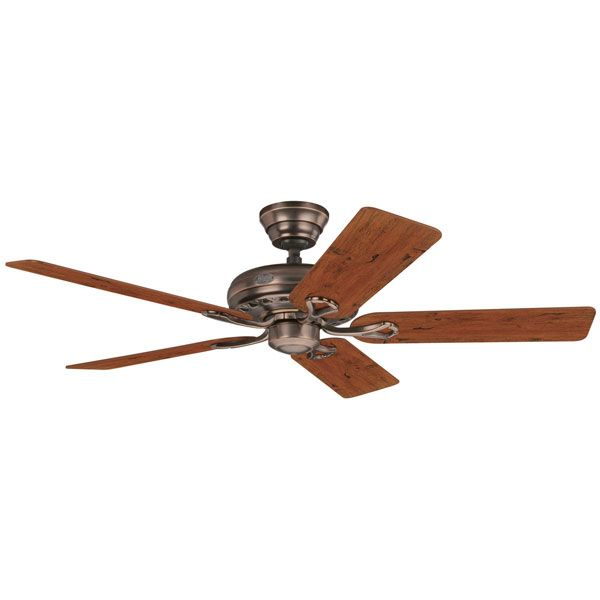 Savoy Amber Bronze with Timber Blades 52″ | Lumera Living