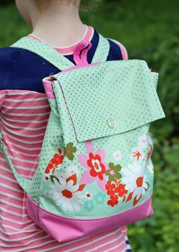 Backpack Sewing Pattern In Adult And Child Size Craft Ideas