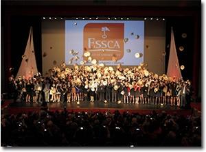 Cérémonie de remise des diplômes ESSCA 2013