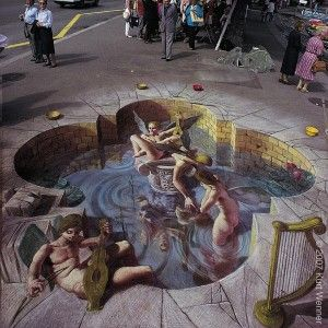 The Cupid – 3D Street Art