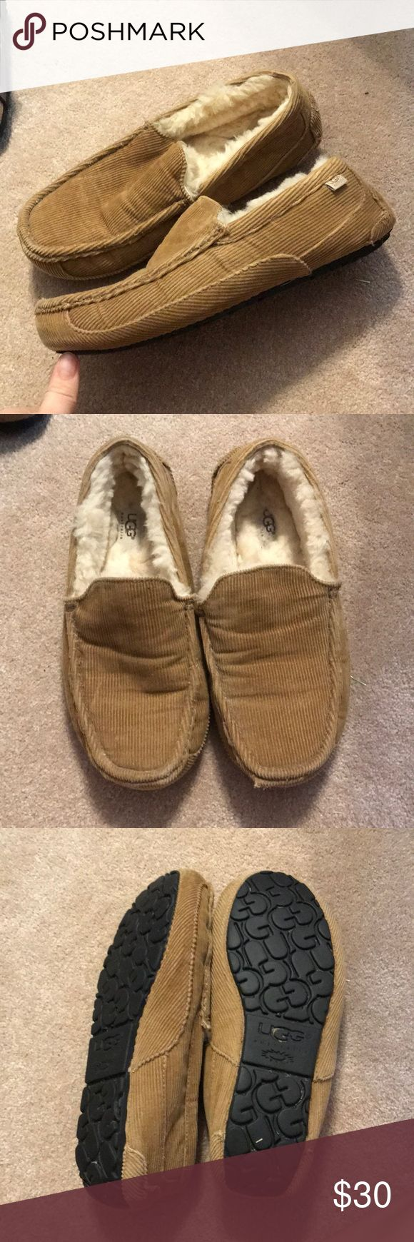 MENS UGG SLIPPERS Corduroy UGG Shoes Loafers & Slip-Ons
