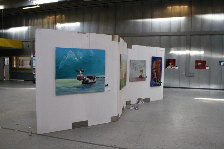 From art fair QvadrART held in Risskov, 2013.