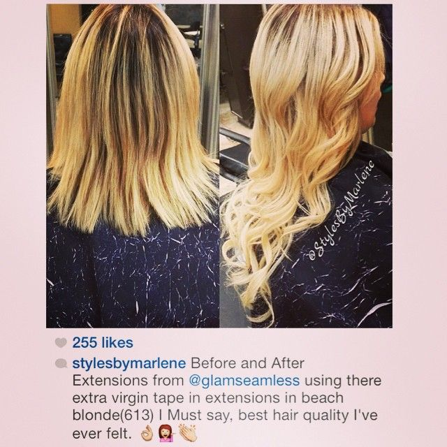 23 best customer reviews of our hair extensions images on view real hair extension before and afters from glam seamless customers and see their transformation transform your look with tape in extensions pmusecretfo Choice Image