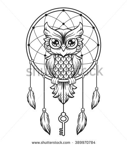 Owl Tattoo Stock Photos, Images, & Pictures | Shutterstock