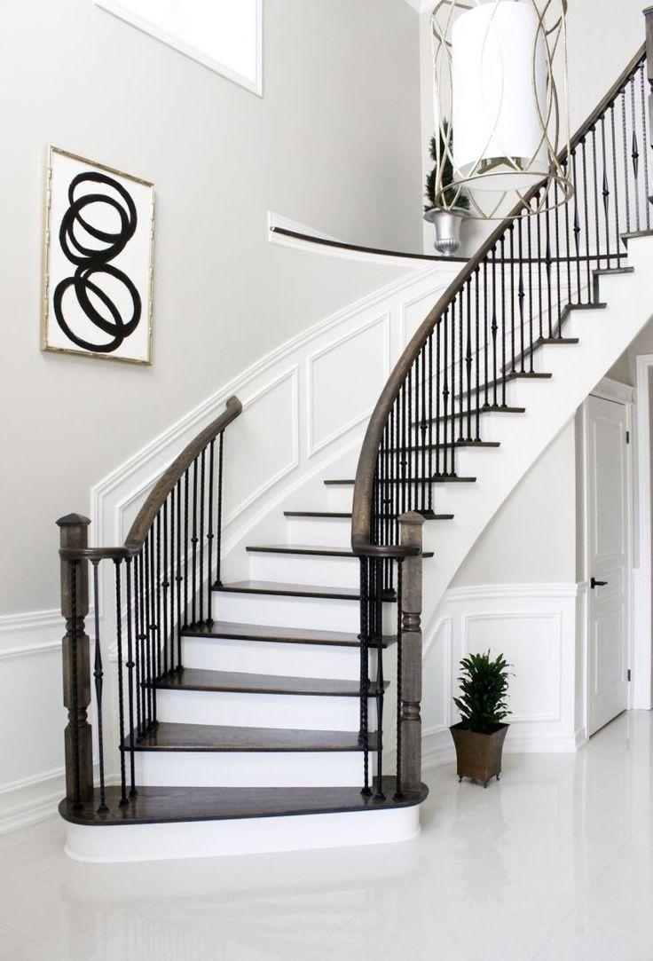 Les 25 meilleures id es de la cat gorie cage escalier sur - Deco cage escalier ...