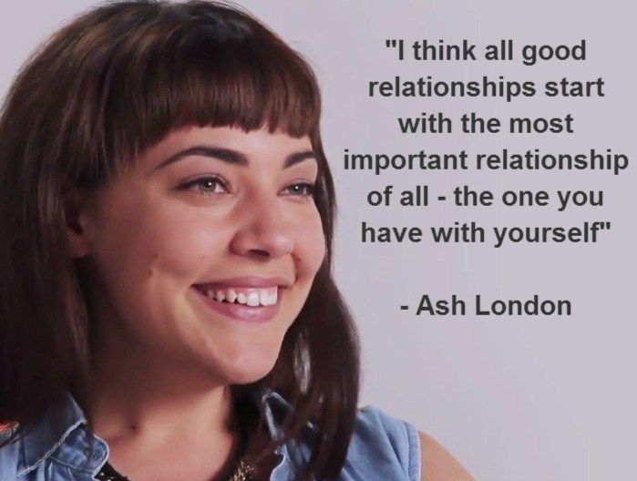 Ash London shares her tips on relationships with co-star Scott Tweedie http://www.youtube.com/watch?v=BMW0UPlPErE