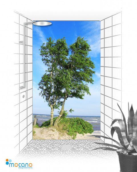 Birken Duschpaneele für die Dusche – mocano ®