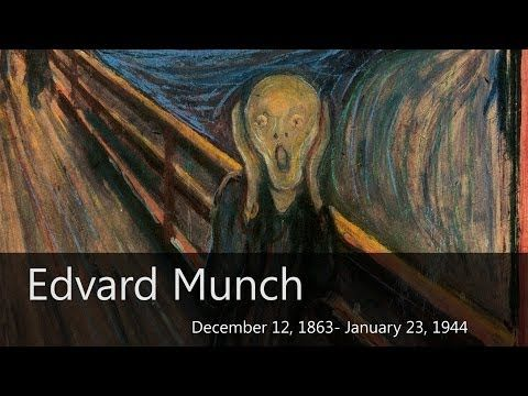 ▶ Edvard Munch Biography - Goodbye-Art Academy - YouTube