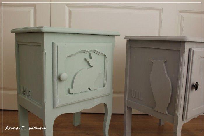 De leukste kinderkamer kastjes Nachtkastjes van Anna E Wonen