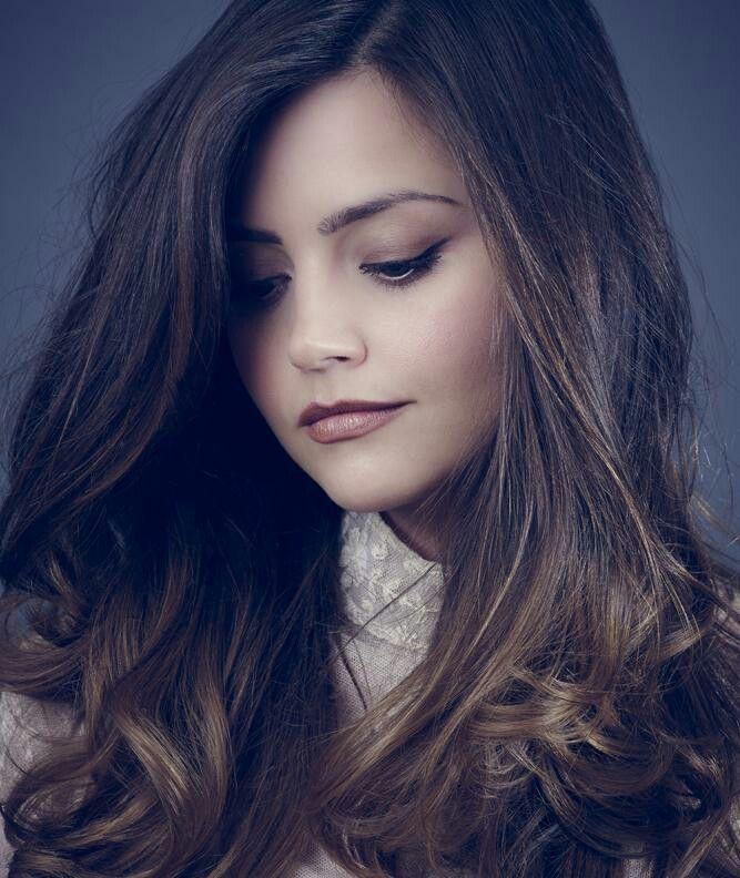 Pensive cutie pie,Jenna Coleman..