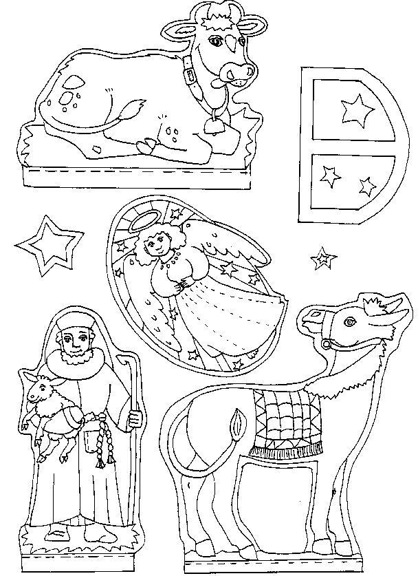 Knutselen: Kerstmis - Kerststal maken - peuter kleuter